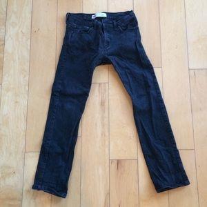Levi's Black 511 Slim Fit Jeans 27 x 27